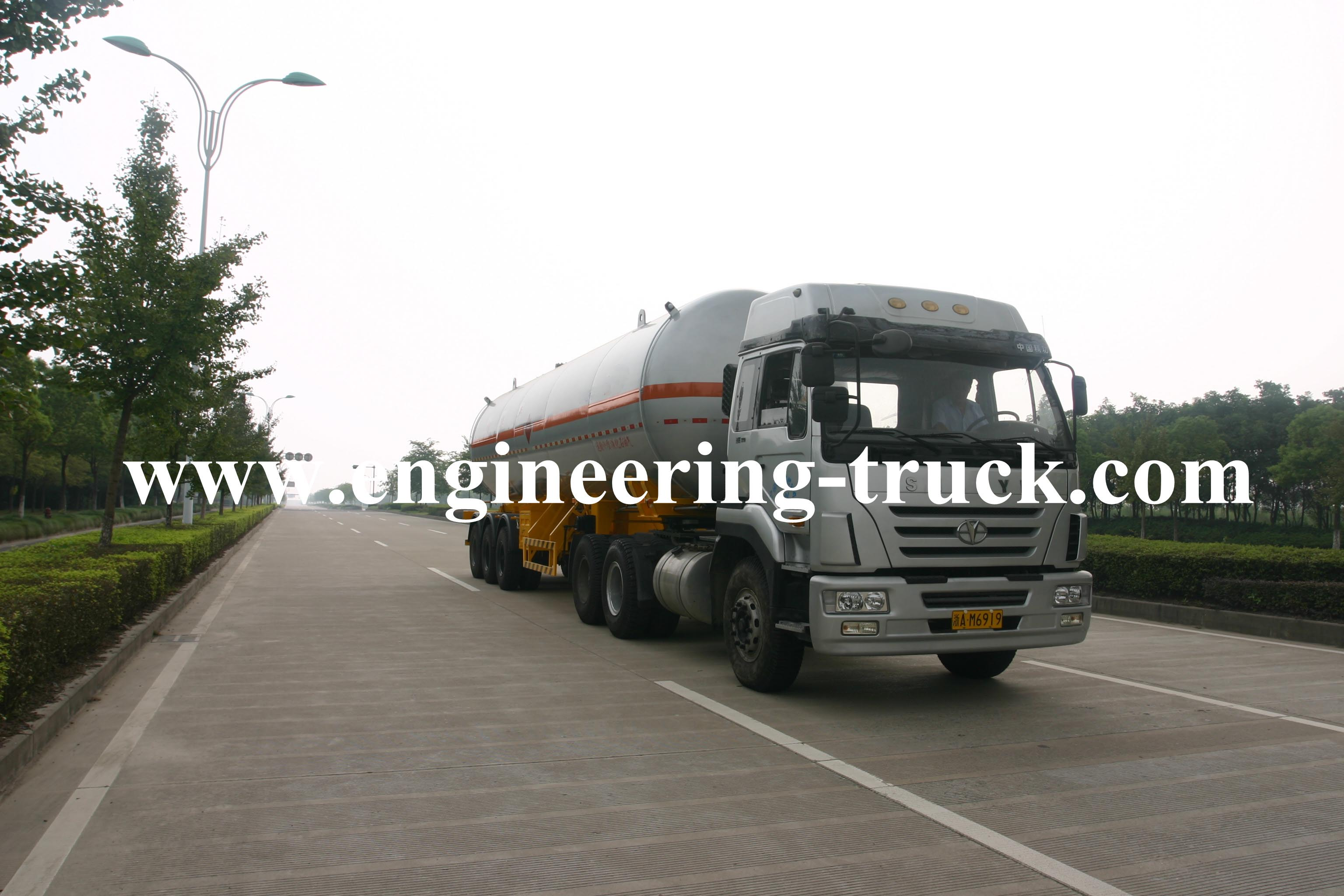 50.8m3 Liquefied Petroleum Gas Tank Semi-trailer for Liquefied Petroleum Gas