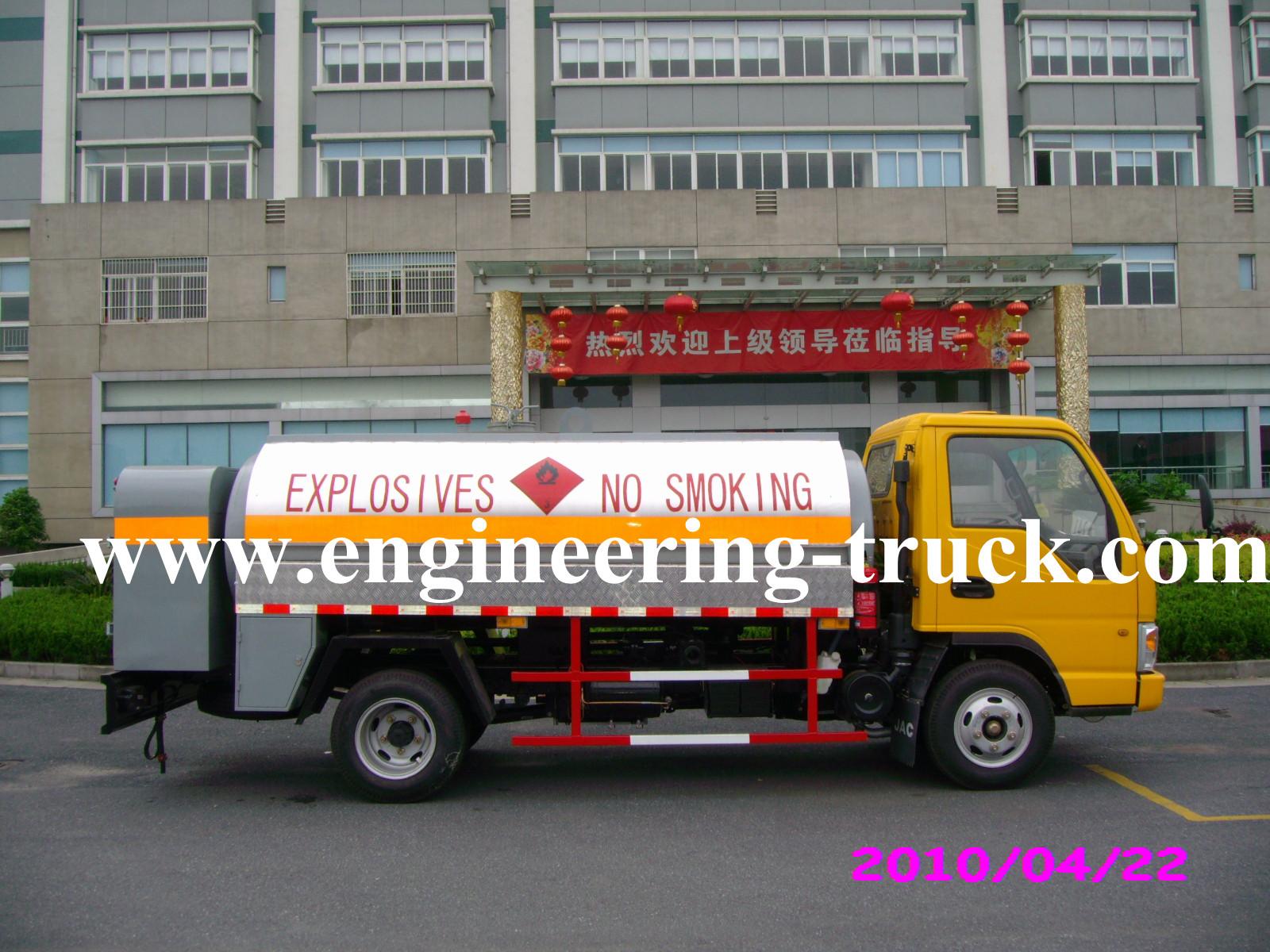 Refueling Tank Truck