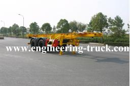 20ft Skeletal container Trailer chassis