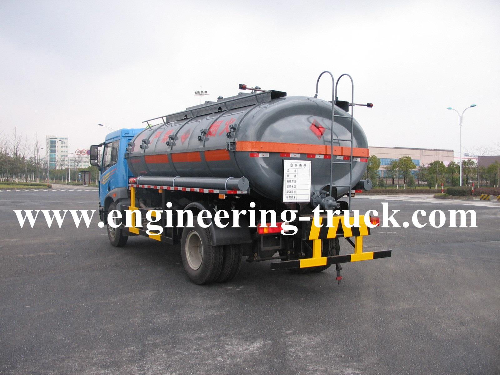 12m3 Chemical Liquid Tank Truck for Isoprene