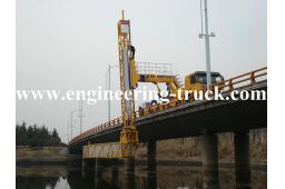 Jiefang chassis performance Girder Bridge Inspection Van