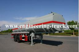 Heavy oil tanker semi trailer price