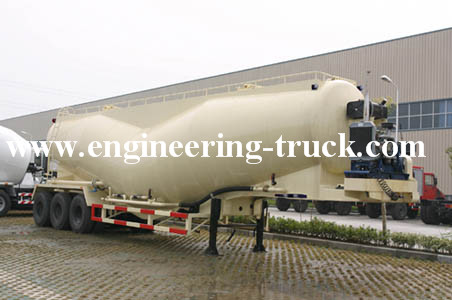 Bulk Cement Tank Semi-trailer truck for sale
