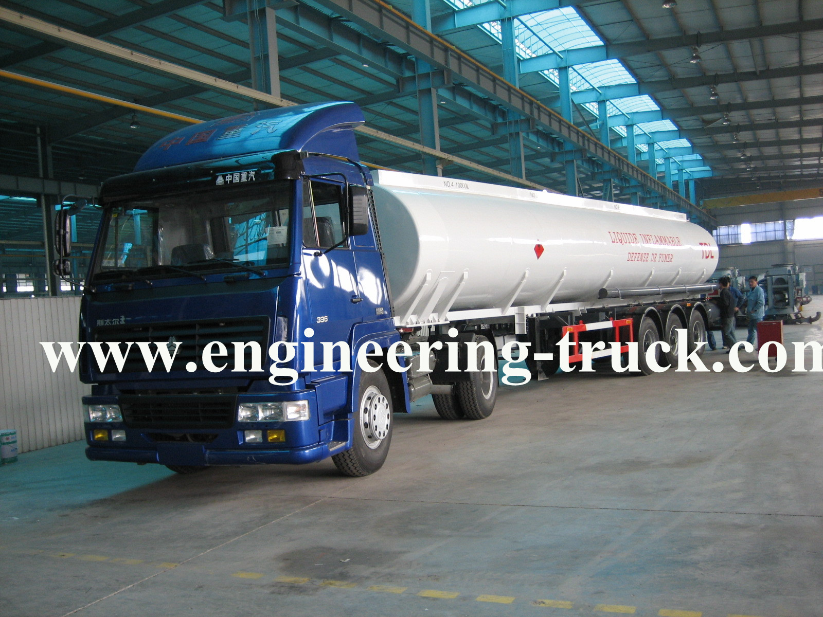 48m3 Flammable Liquid Tank Semi-trailer for Pentane