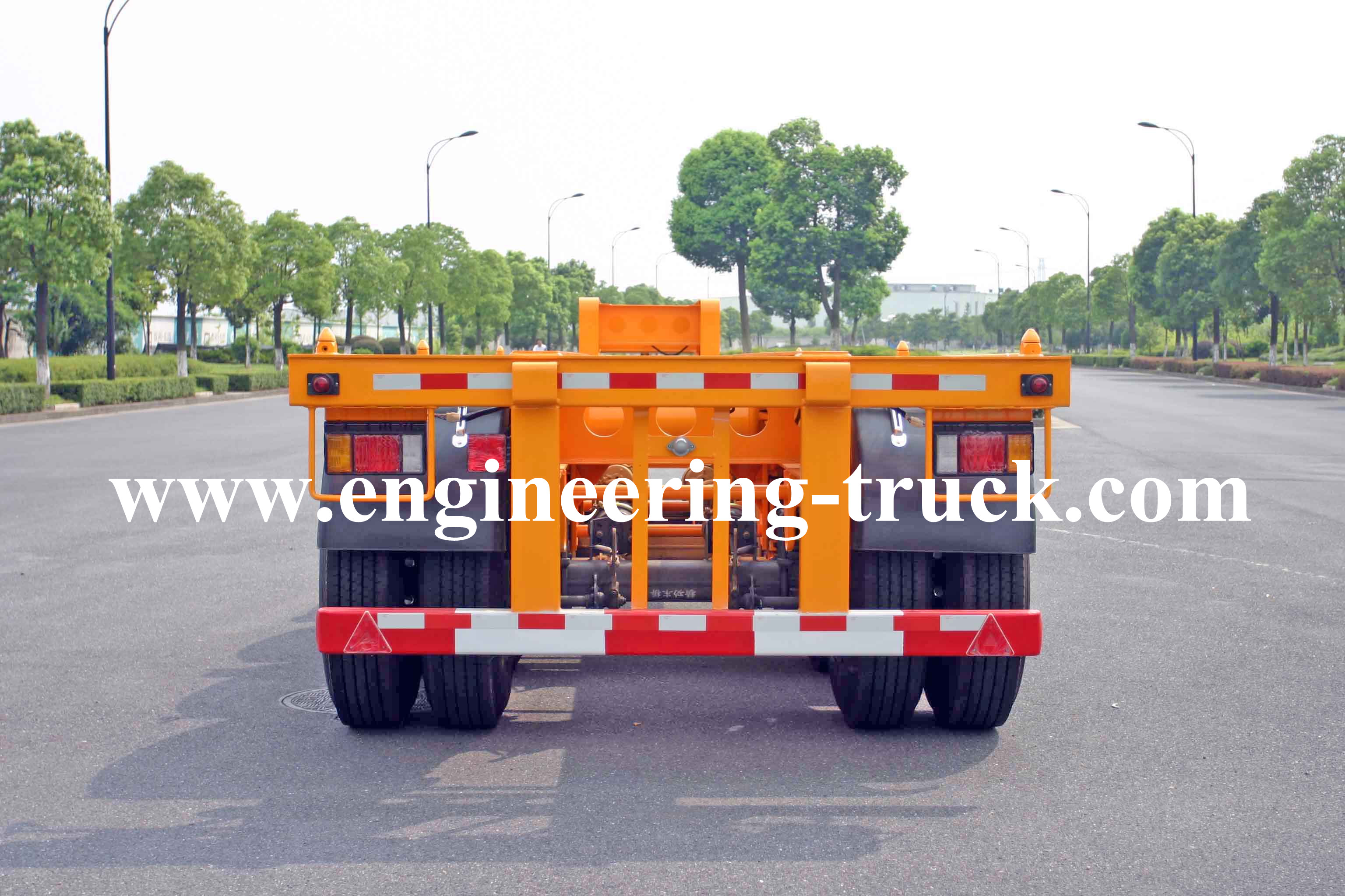 40ft Gooseneck container Trailer chassis
