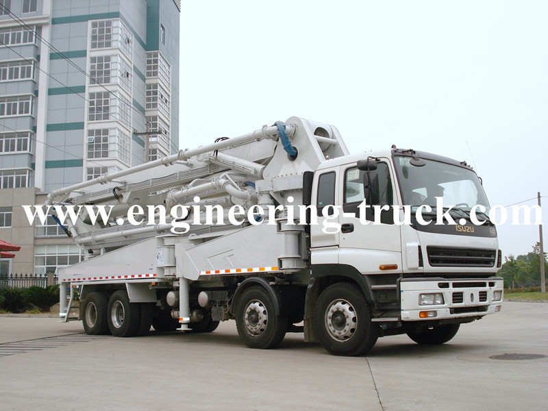 ISUZU Truck-mounted Concrete Pump 47m