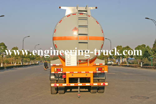 42.5m3 Chemical Liquid Tank Semi-trailer for Aether/Gas/Diesel