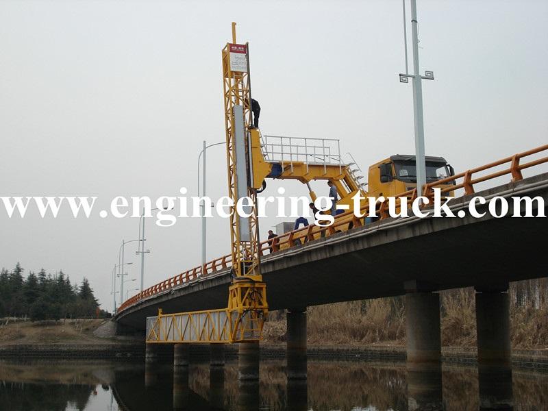 Jiefang chassis performance Girder Bridge Inspection Van