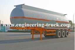 42.5m3 Chemical Liquid Tank Semi-trailer for Aether/Gas/Diesel