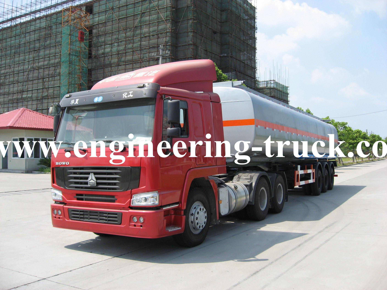 41.2m3 Chemical Liquid Tank Semi-trailer for Cyclopentane/Gas/Diesel