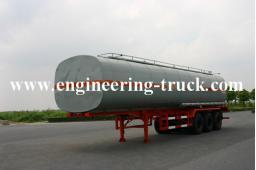 45.5m3 Chemical Liquid Tank Semi-trailer for Cyclopentane/Gas/Diesel