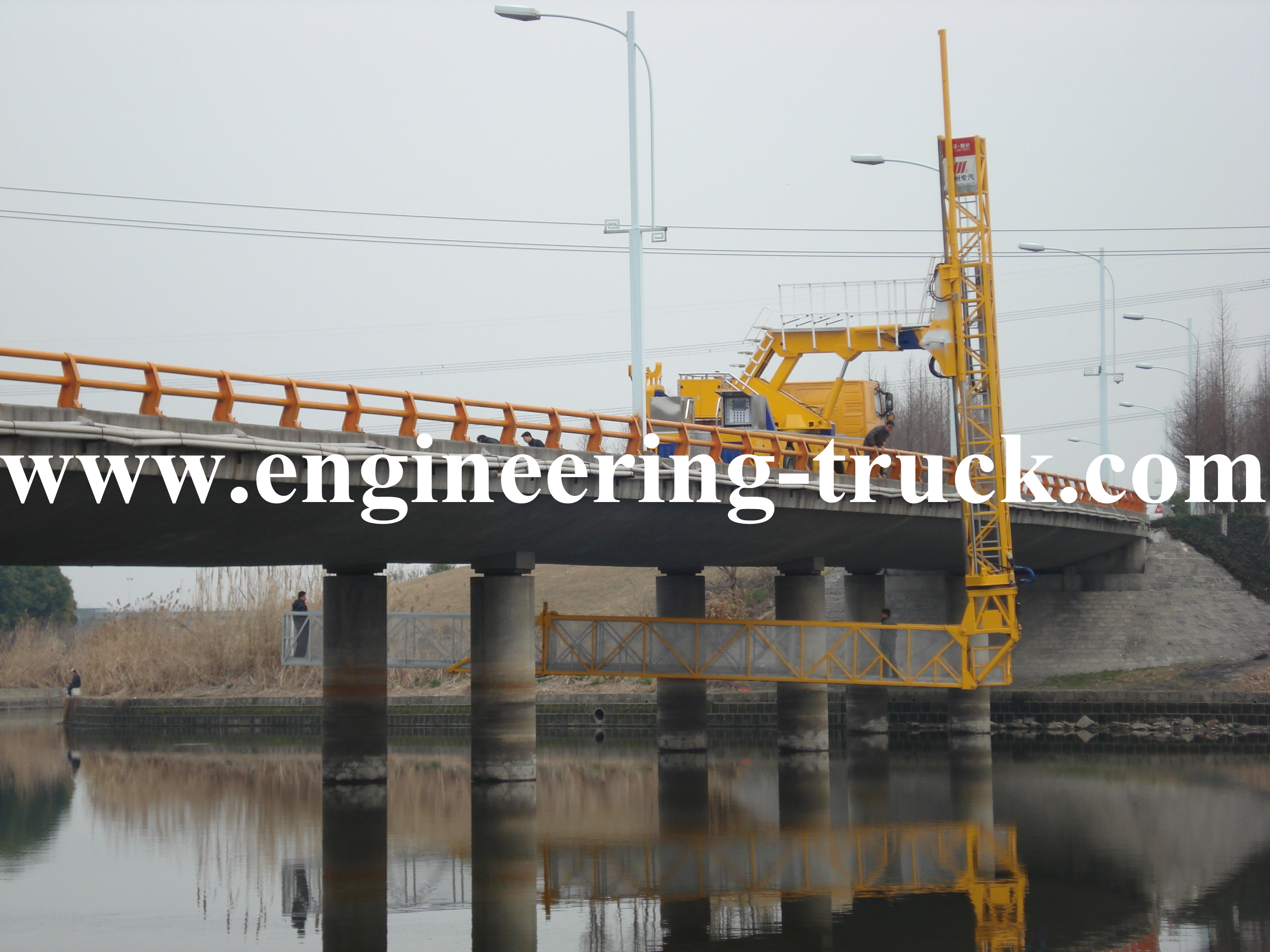 VOLVO chassis performance Girder Bridge Inspection Van