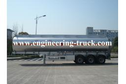 14m3 Aluminum Tank Truck And Semi-trailer for Gasoline and Diesel