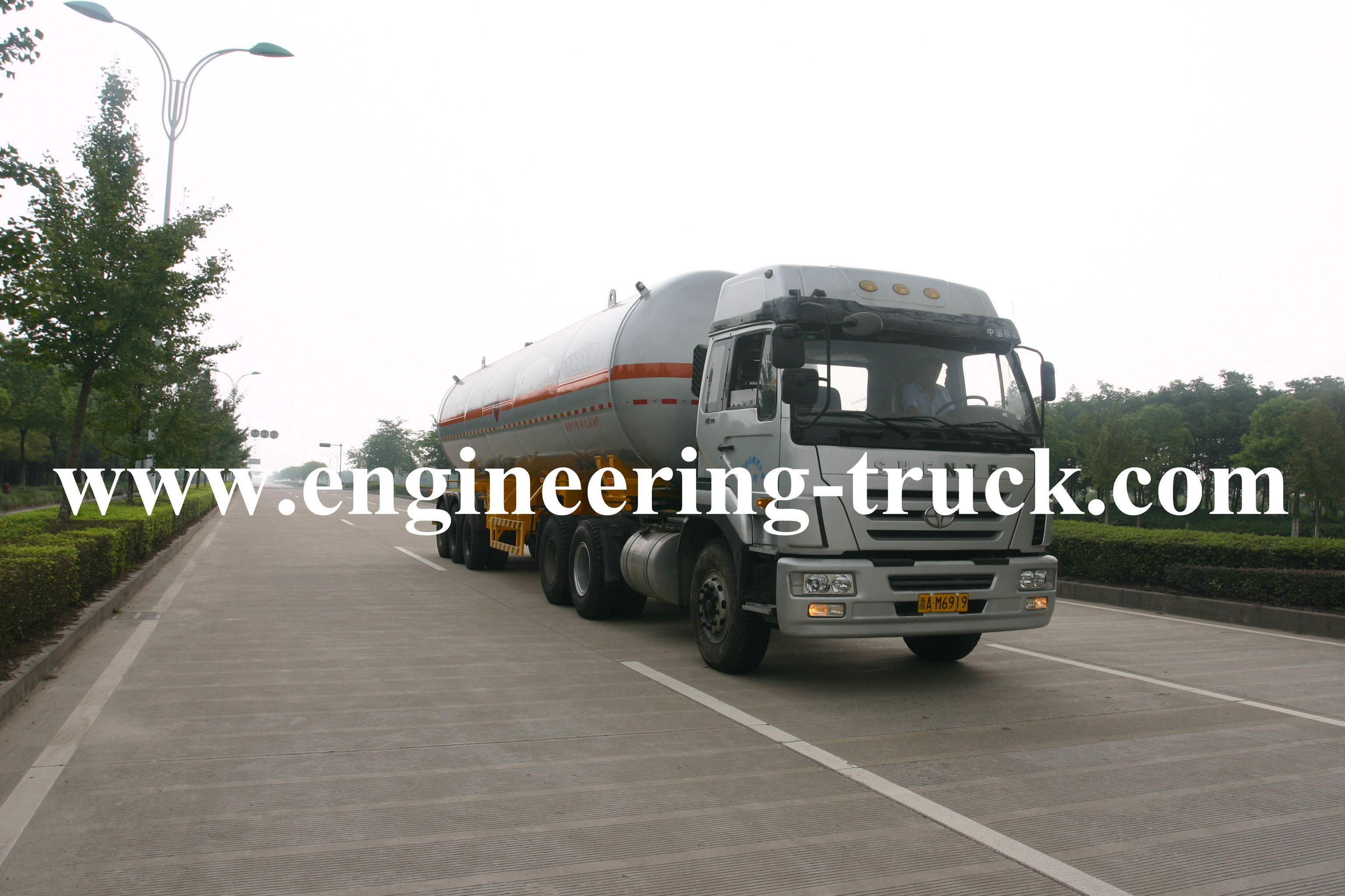 39.2m3 Liquefied Petroleum Gas Tank Semi-trailer for Epoxypropane
