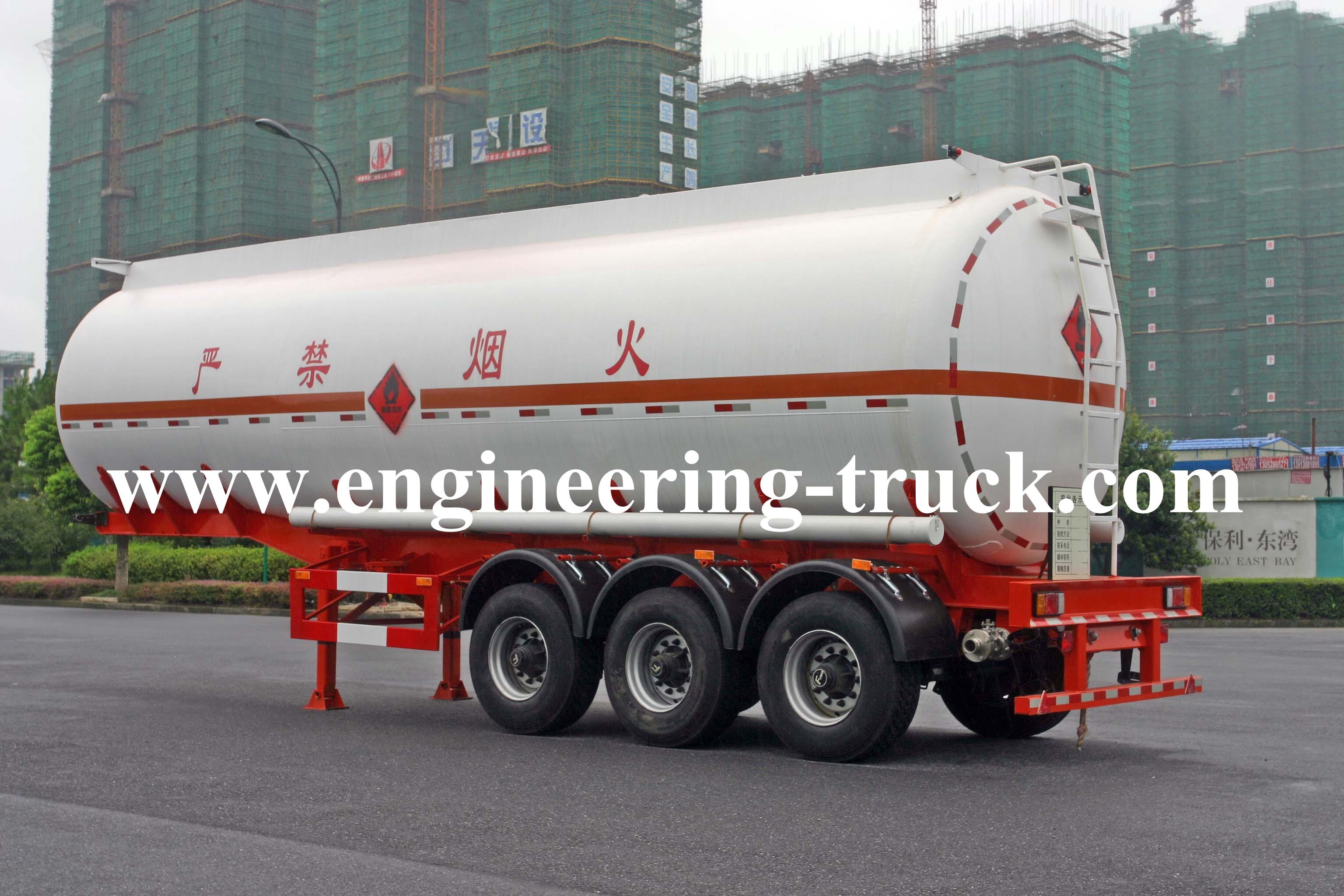 Liquid Tank Semi trailer manufacture