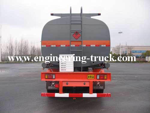 35.5m3 Flammable Liquid Tank Semi-trailer for Toluene