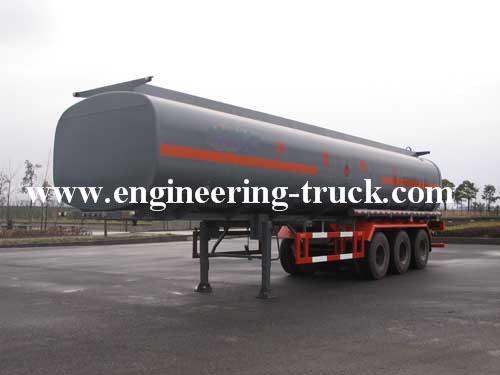 46m3 Chemical Liquid Tank Semi-trailer for Cyclopentane/Gas/Diesel