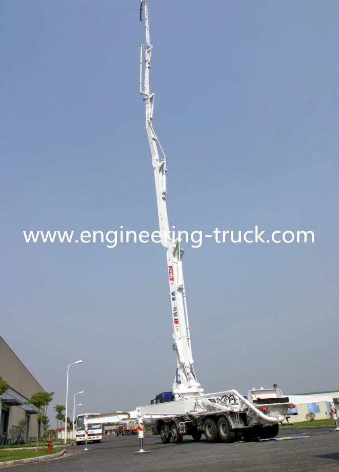 47M  IZUZU Chassis Concrete Pump Vehicle